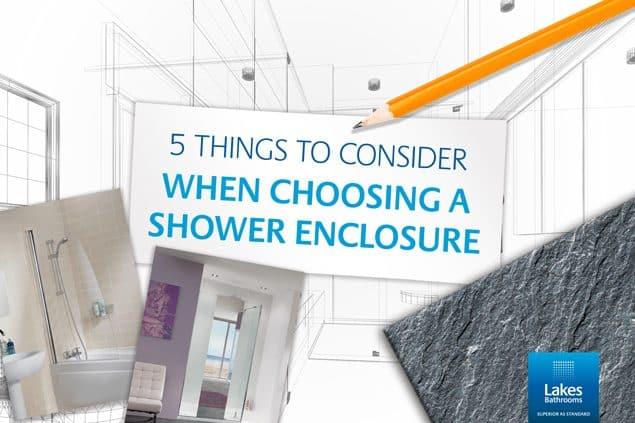 5 éléments à prendre en compte pour choisir la bonne cabine de douche