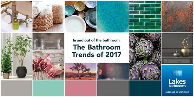 Dans et hors de la salle de bains : Les tendances de la salle de bains en 2017