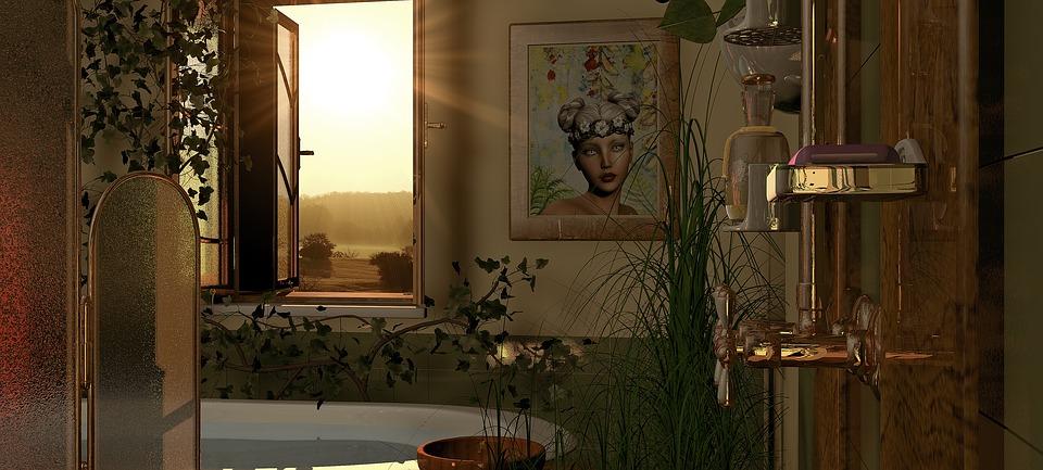 7 conseils pour un moment de détente dans la salle de bain Feng Shui