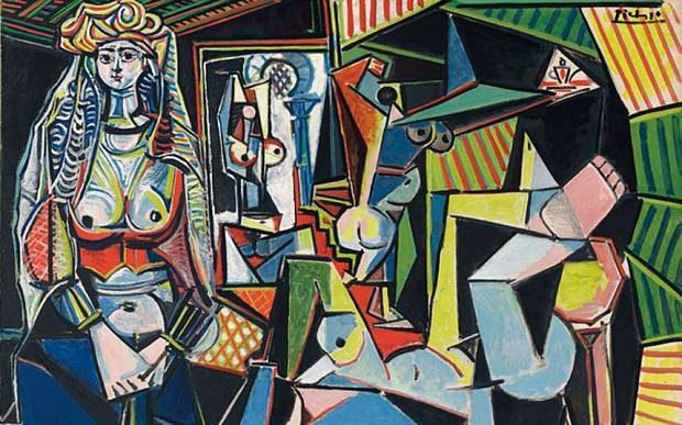 Les Femmes d'Alger (Version O) by Pablo Picasso