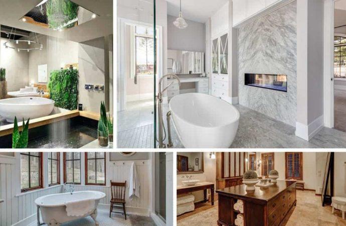 Les différents types de salle de bains