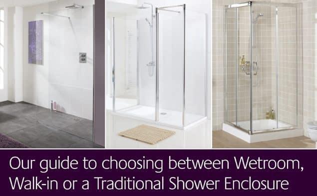 Options de cabine de douche : Un guide pour choisir entre une salle d'eau, une douche à porte ou une cabine de douche traditionnelle.