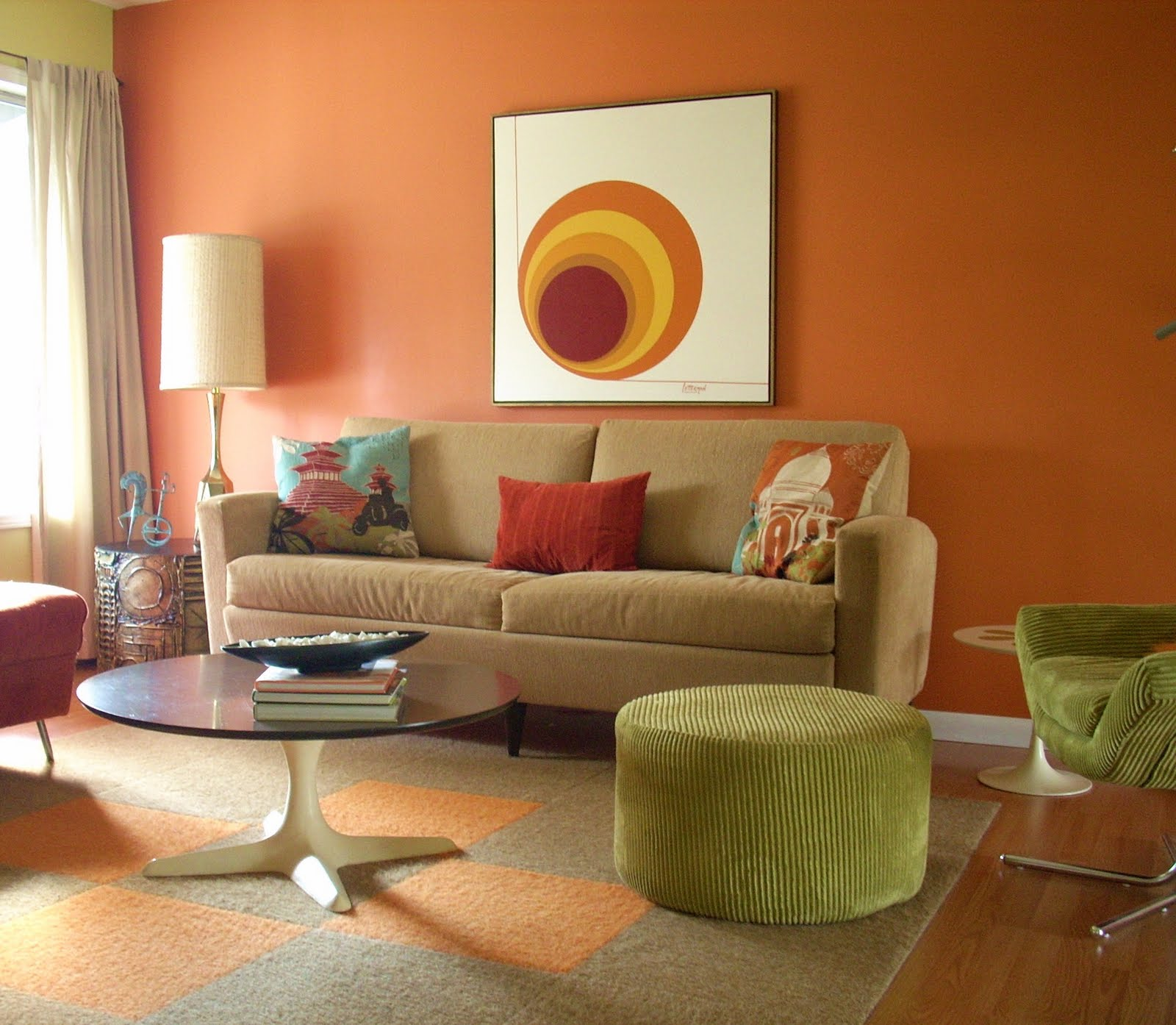 Lovely Living Room Wall Paint