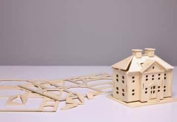 Maquette de maison en bois