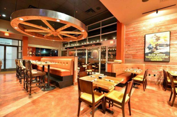 Rustic Wooden Restaurant Tables