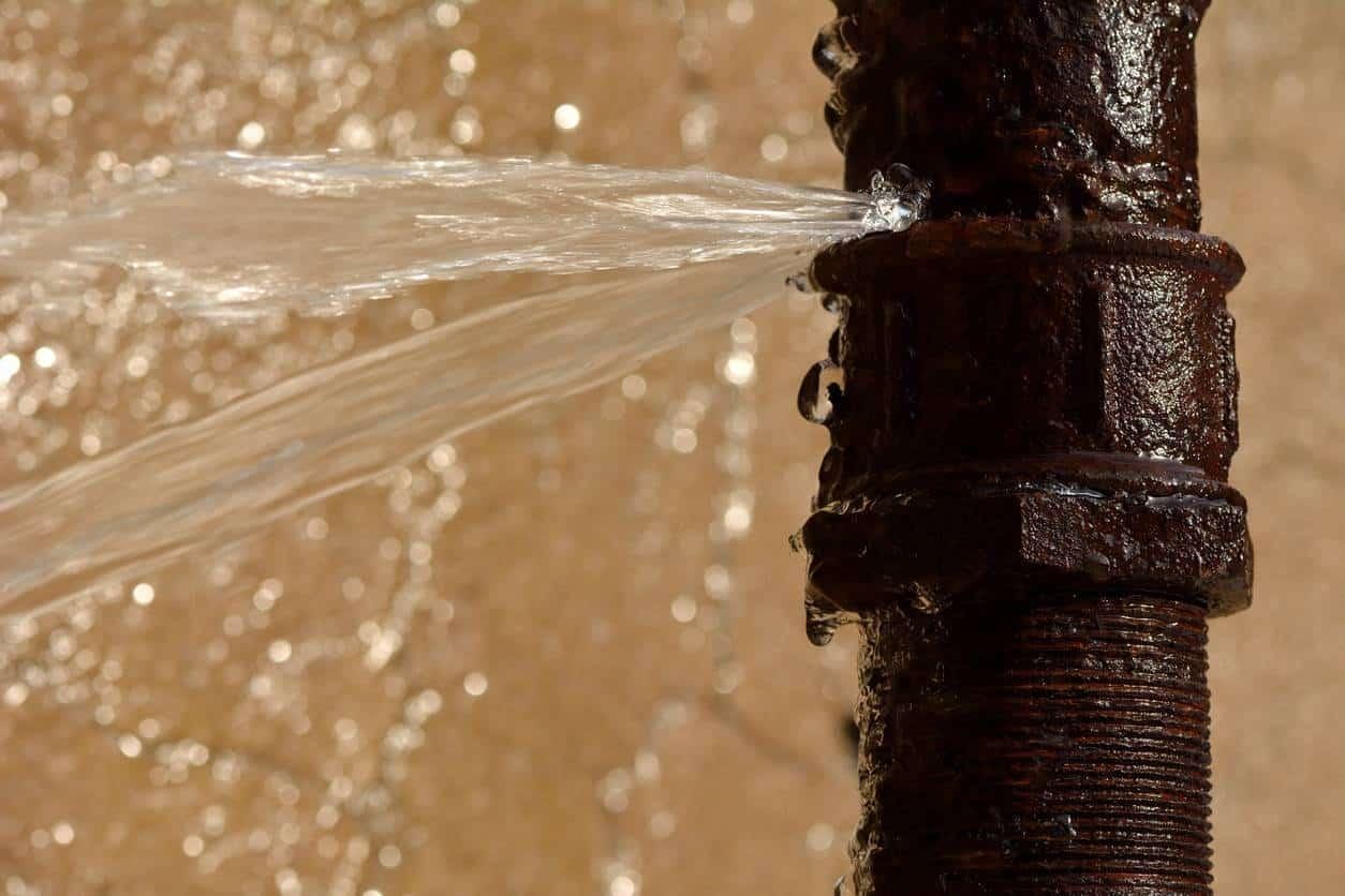fuites d'eau solutions